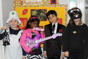 Red House School L-R Harriet Rowell, Keerthika Prasanna, Ronak Jayswal and Grace Haywood