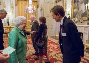 Richard May meets the Queen