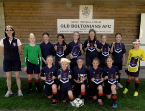 U11-Girls-winners-of-ISA-Football-Tournament-in-Bolton
