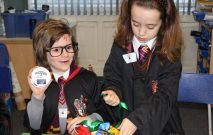 children dress up as Harry Potter for World Book Day