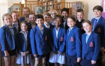 group of pupils who have passed their LAMDA exams