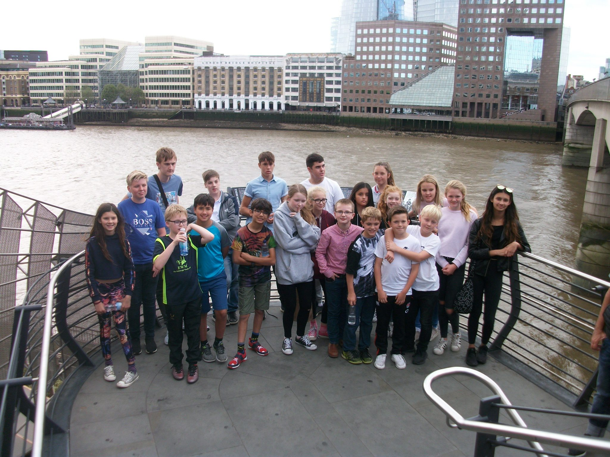 Group of Red House pupils visit London